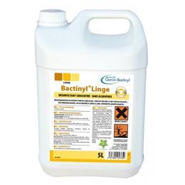 Lessive désinfectante bactéricide, fongicide et virucide BACTINYL additif linge 5L