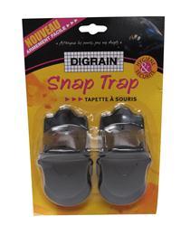 Digrain snap trap piège mécanique souris