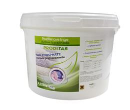 Pastille lave linge bactéricide PRODITAB