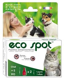 Eco spot n°1.1 pipette chat + 5kg