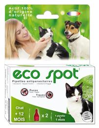 Eco spot n°1 pipette chat