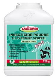 Saniterpen insecticide poudre pyrèthre végétal
