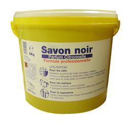 Savon noir pâte citronnelle 5kg