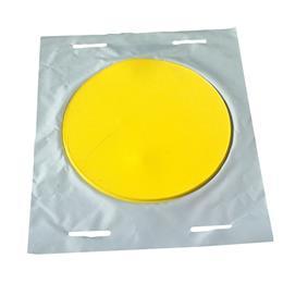 Plaque d'obturation ronde réutilisable