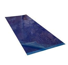 Tapis feuilles pelables bleu