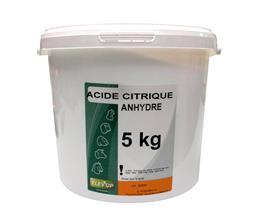 Acide citrique Anhydre 5kg