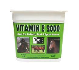 Vitamine E 2000 Tocophérol cheval