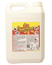 Insecticide rampants volants laque KING 5L