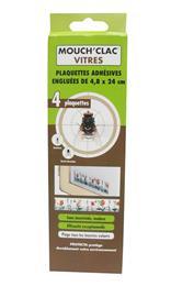 Plaquette insecticide englué mouche moustique Mouch´clac vitres glu