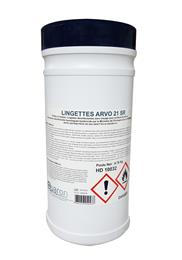 Lingettes ARVO 21 SR boîte de 200 lingettes