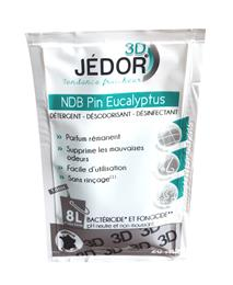 Dosettes JEDOR 3D PIN EUCALYPTUS