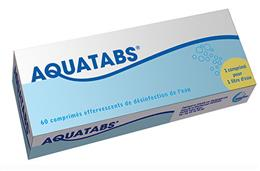 AQUATABS 1 litre 60 cps