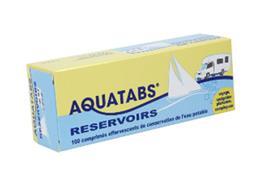 AQUATABS réservoirs 10 litres 100 cps