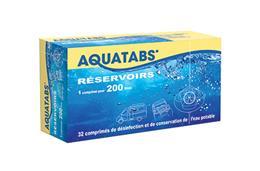 AQUATABS réservoirs 200 litres 32 cps