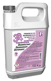 3D + Détergent désinfectant neutre DESODOR 5L