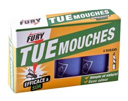 Fury 4 rubans attrape mouches