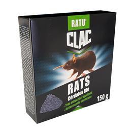 Ratu´clac céréales RATS blé Bromadiolone 150g