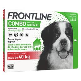 Frontline combo chien + 40 kg