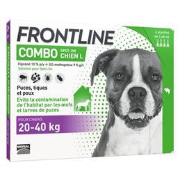 Frontline combo chien 20-40 kg