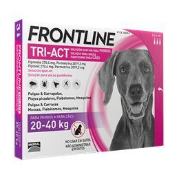 Frontline TRI ACT chien L (20 à 40 kg)