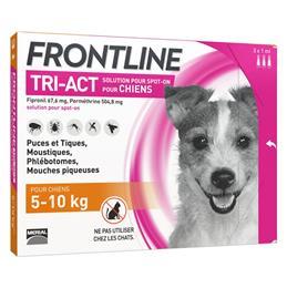 Frontline TRI ACT chien S (5 à 10 kg)