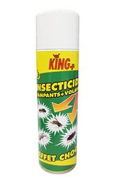 Insecticide rampants + volants KING