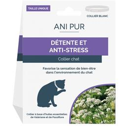 ANI PUR collier chat détente et anti-stress