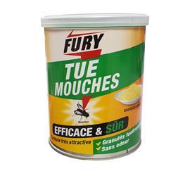 Fury granulés jaunes mouches