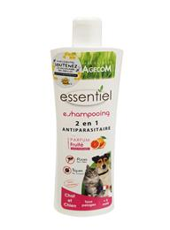 Shampooing antiparasitaire chien chat fruité