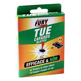 Fury boîte appât cafards blattes x5