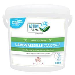 Action verte tablettes lave vaisselle classique ecocert