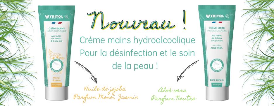 Crème mains hydroalcoolique Wyritol