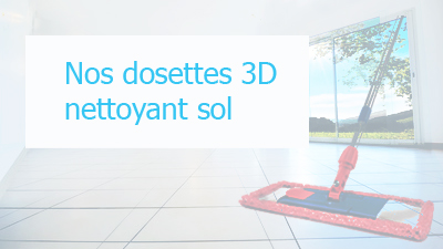 Nos dosettes 3D