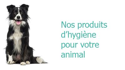 Nos produits pour l'hygiène animal