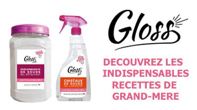 Gloss produit naturel